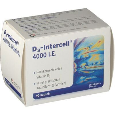 D3-Intercell® 4000 I.E., 90 капсул